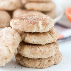 Grandma's Snickerdoodle Cookies No Cream of Tartar