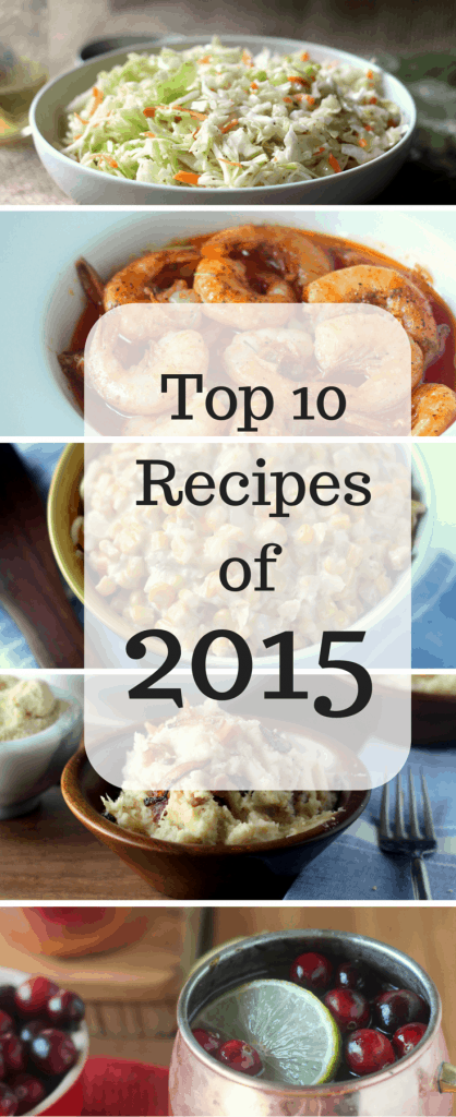 Top 10 Recipes of 2015 Pinterest- Best recipes from blackberrybabe.com. Most popular.
