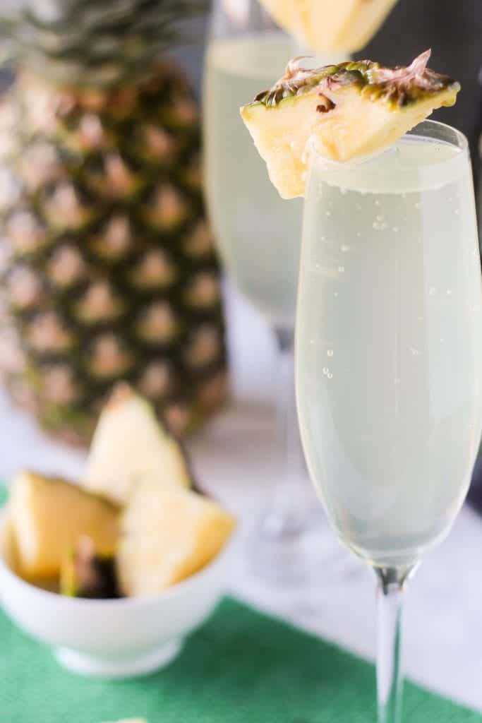 Pineapple Mimosas - Blackberry Babe