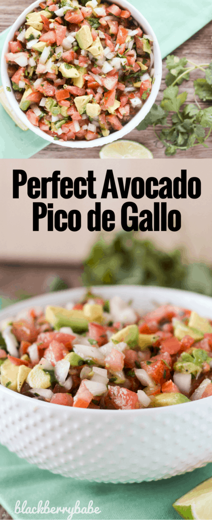 Perfect Avocado Pico de Gallo