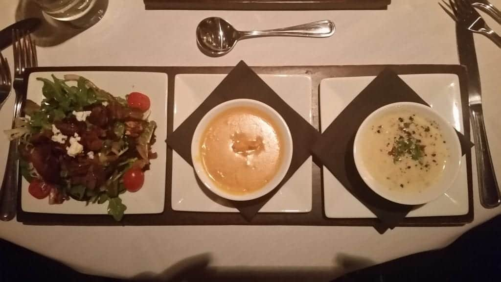 Soup and Salad Flight from Flight in Memphis