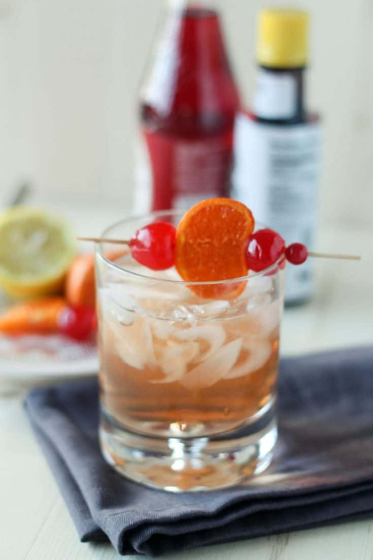 Old Fashioned Sweet- Wisconsin Style Cocktail Recipe