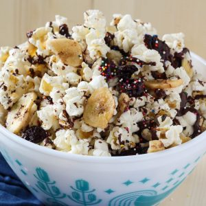 Ice Cream Sundae Popcorn Mix