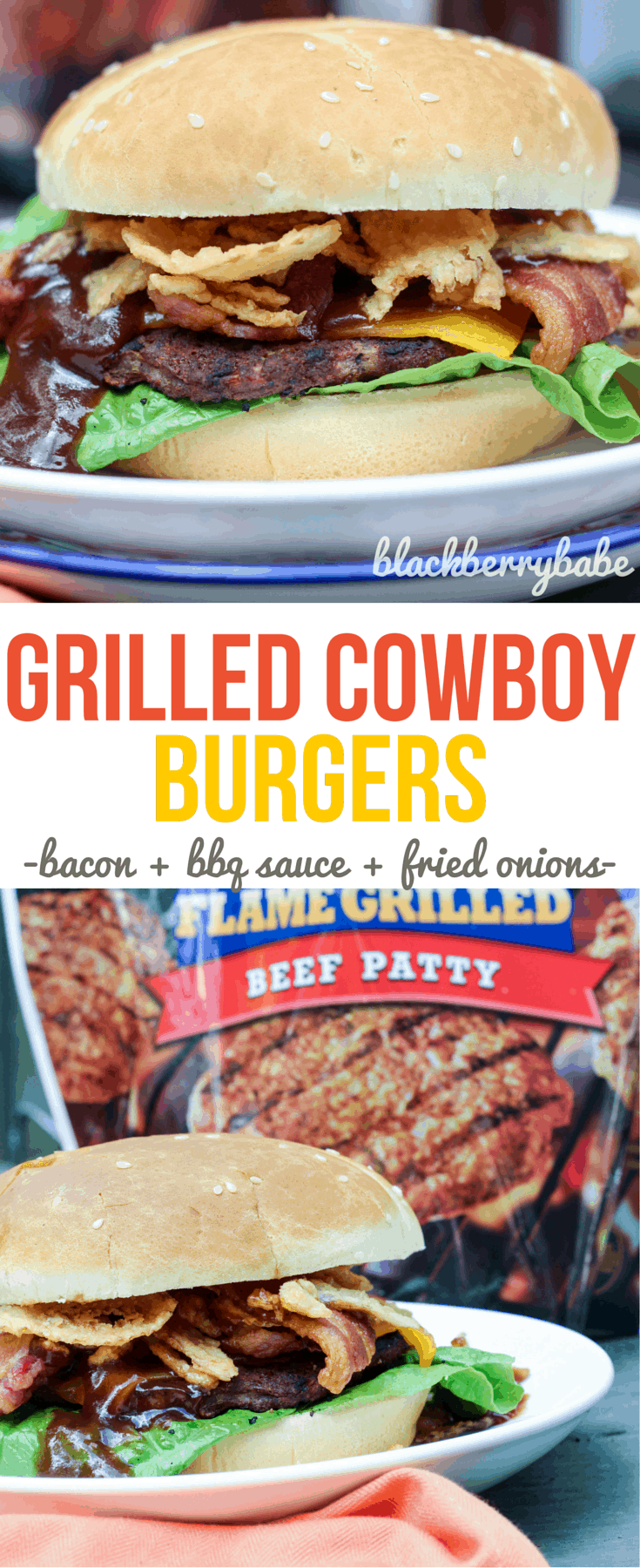 Grilled Cowboy Burgers