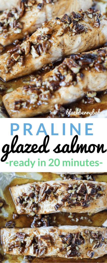 Praline Glazed Salmon Recipe