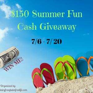 Fun Summer Giveaway- Win $150 in Cash
