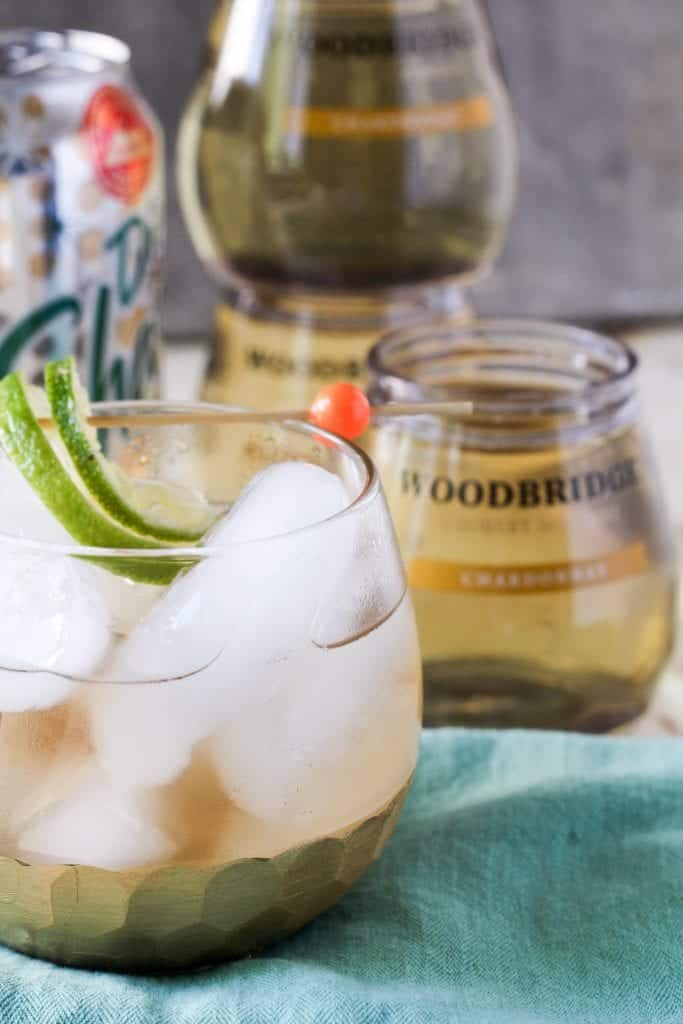 Ginger White Wine Spritzer Recipe
