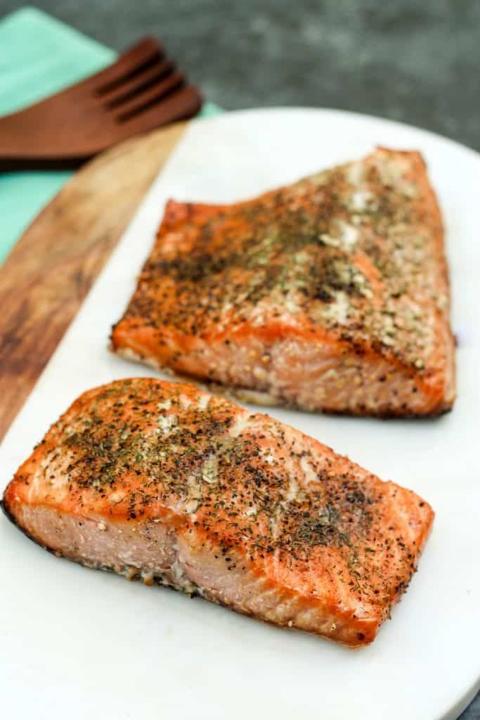 Brown Sugar Smoked Salmon - Easy Smoked Salmon Rub - Dry Brine Salmon