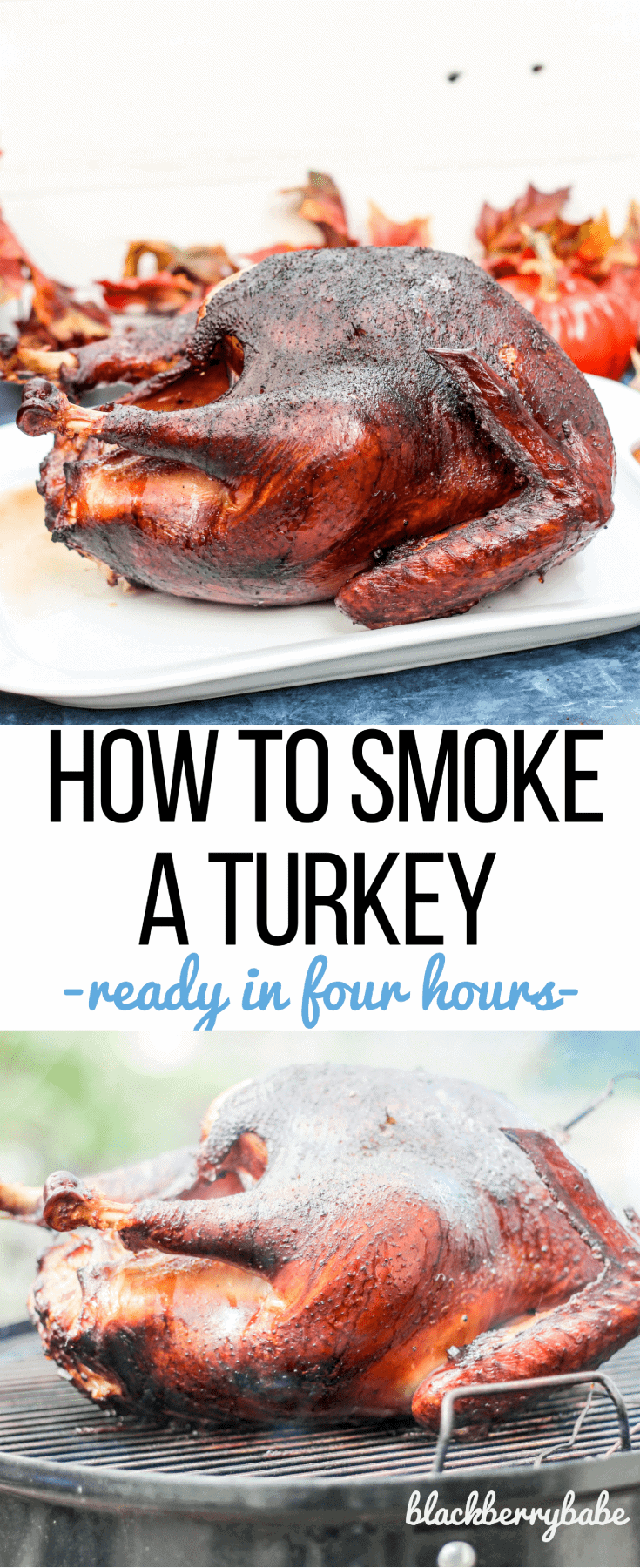 How to Smoke a Whole Turkey for Thanksgiving