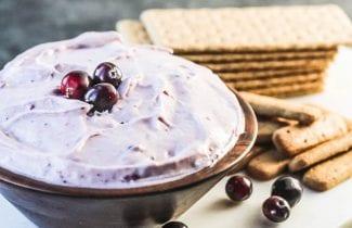 Easy Cranberry Cream Cheese Dip