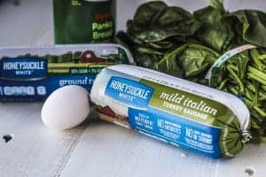 Easy Turkey Spinach Meatballs