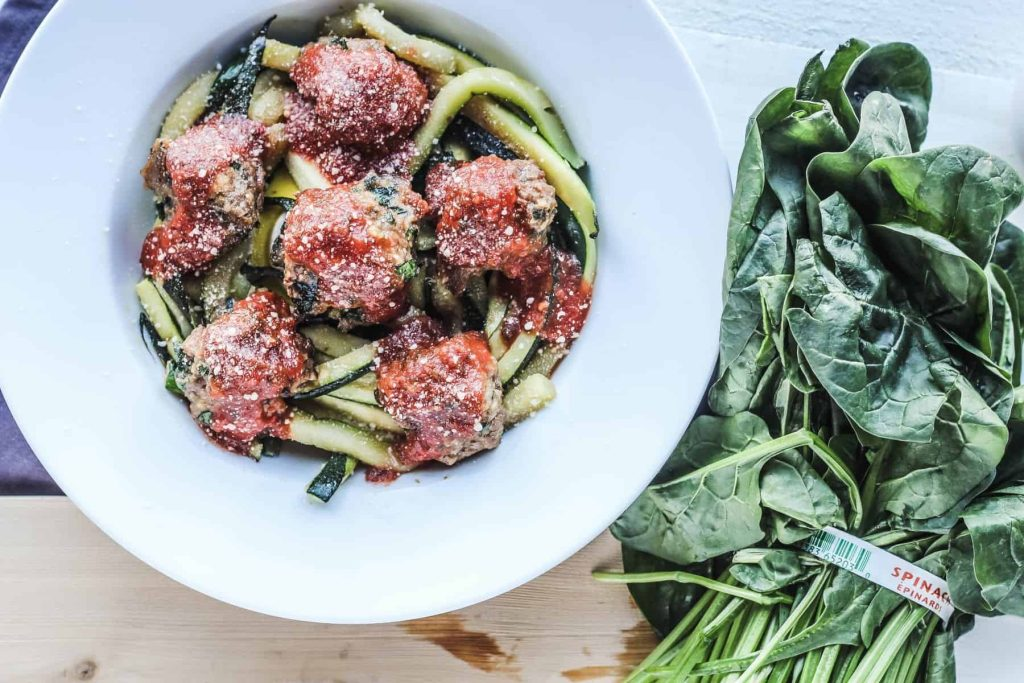 Turkey Spinach Meatballs, Healthy Turkey Meatballs, Healthy Meatballs Recipe