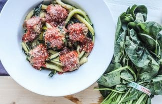 Easy Turkey Spinach Meatballs