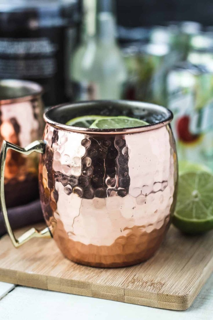 Lemon Lime Moscow Mules