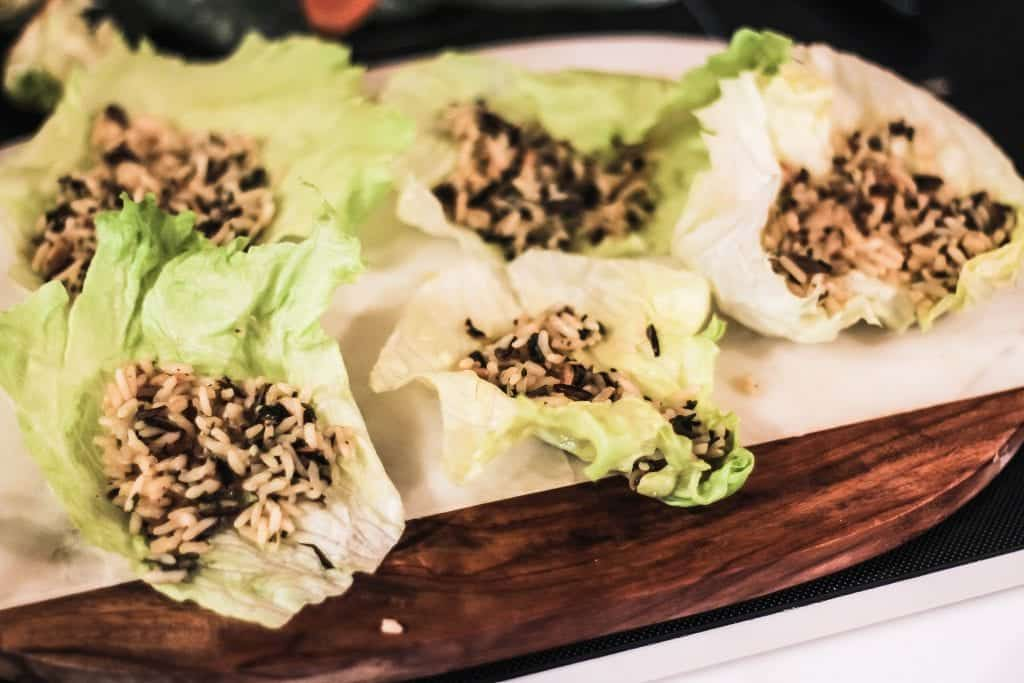 Hibachi Steak Lettuce Wraps