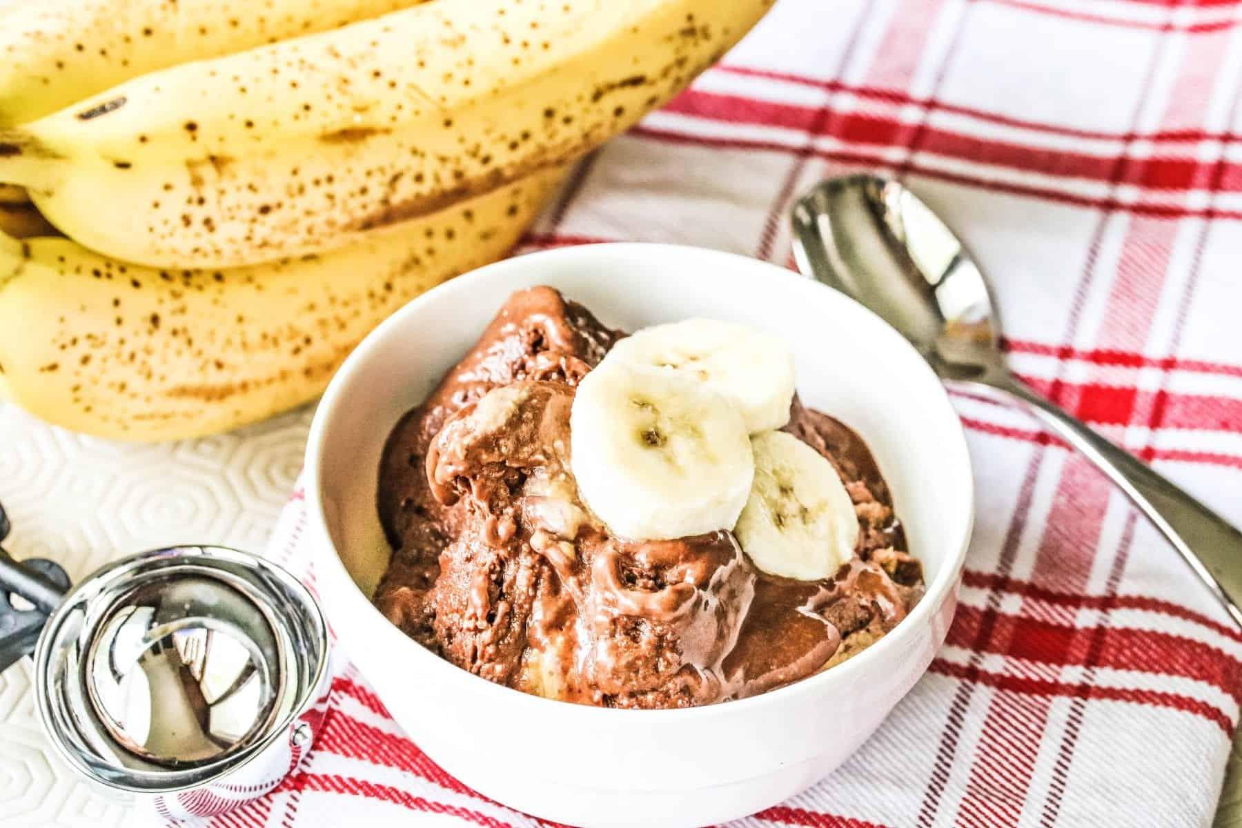 Chocolate Banana Ice Cream Nice Cream