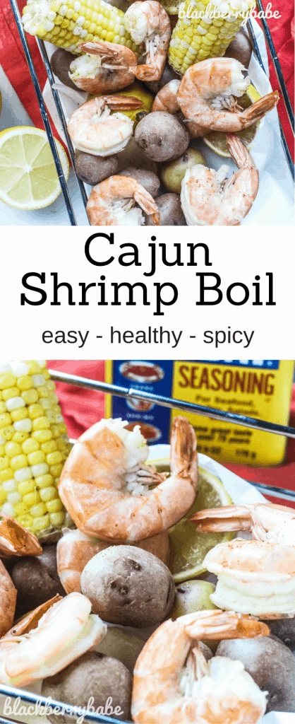 Cajun Shrimp Boil - Blackberry Babe