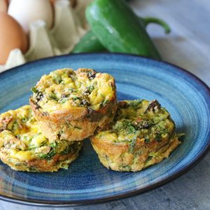 Healthy Egg Muffins Vegetarian