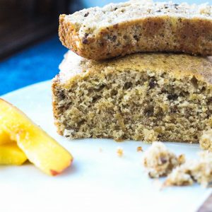 Peach Bread with Pecans