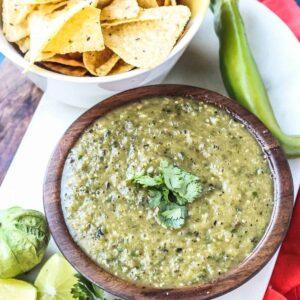 Hatch Green Chile Salsa Verde