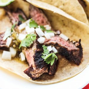Easy Flank Steak Tacos