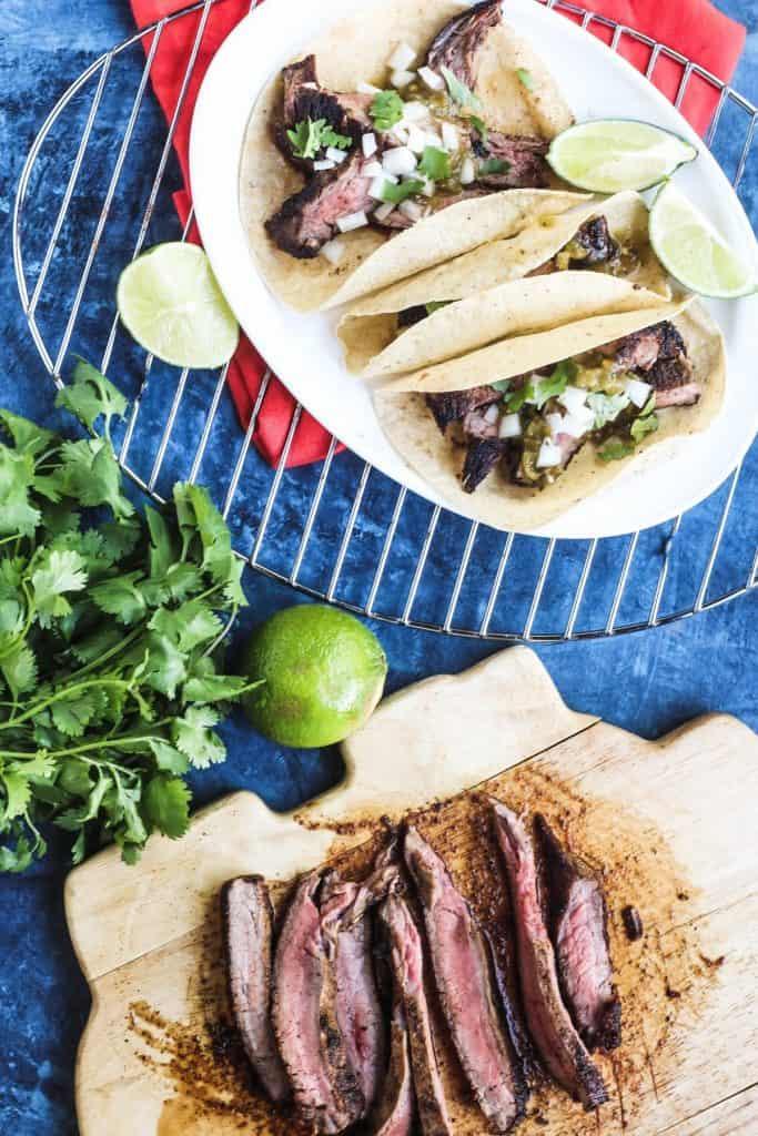 Easy Flank Steak Tacos