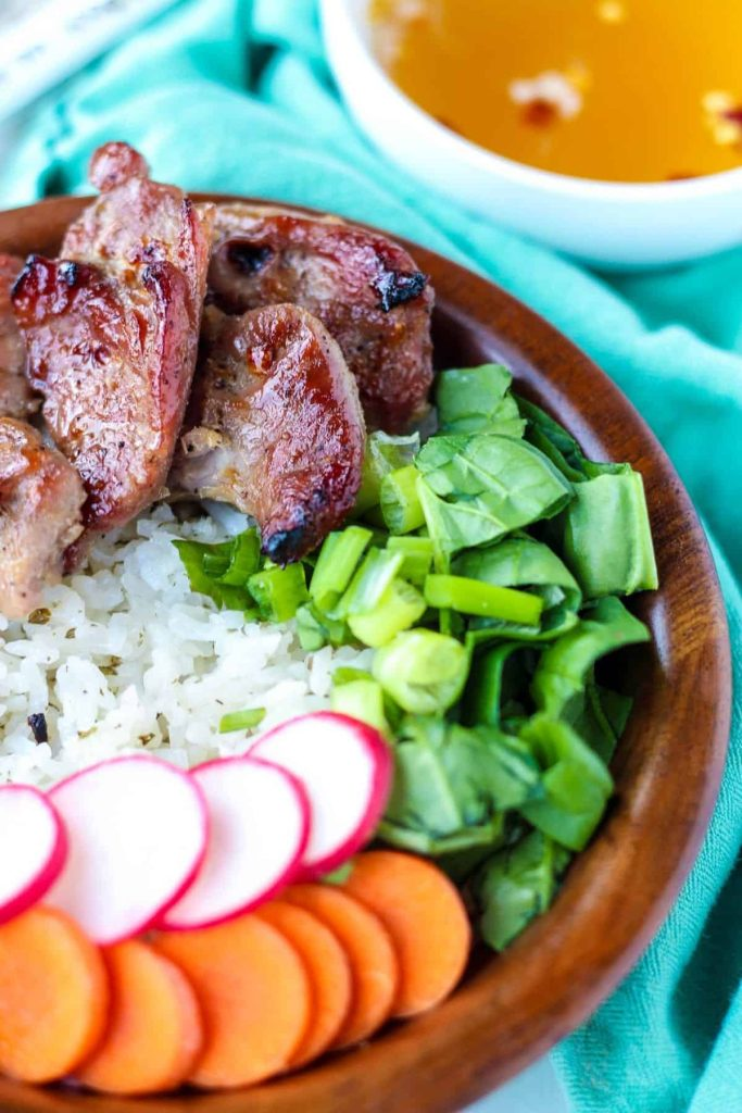 Vietnamese Pork Bowl