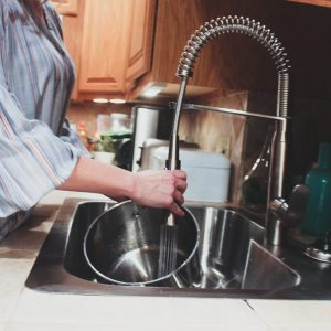 Starting Our Kitchen Renovation Project with a new Hands-Free Kitchen Fixture and Sink