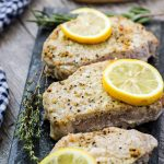 Lemon Pepper Pork Chops Recipe