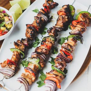 Turkey Fajita Kabobs Recipe