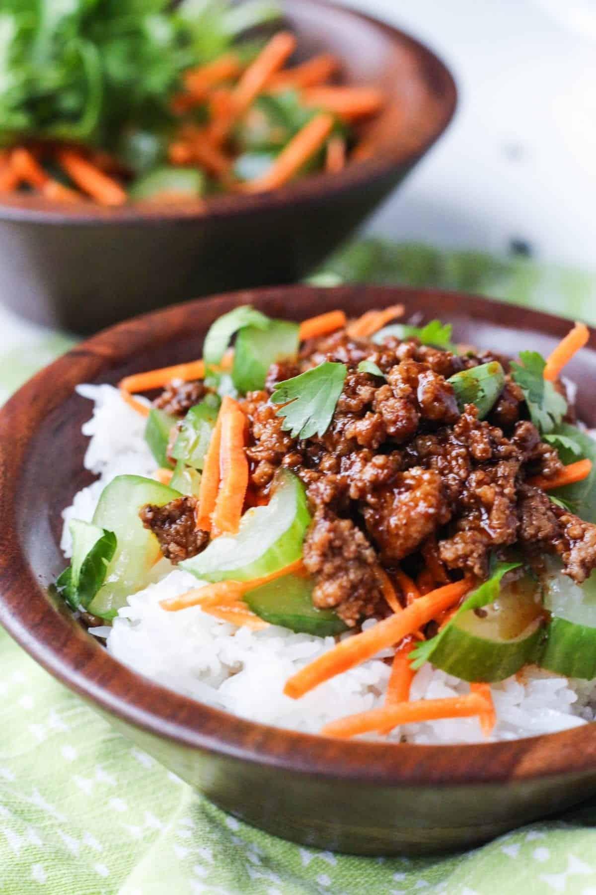 Pork Banh Mi Bowl