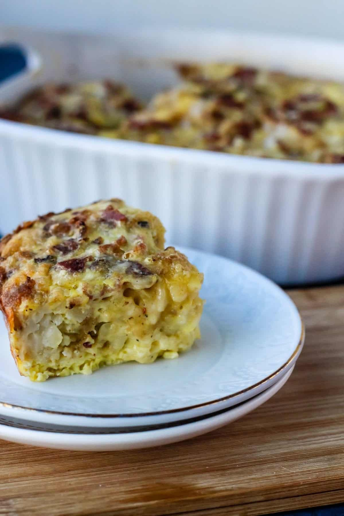 Breakfast Casserole with Bacon
