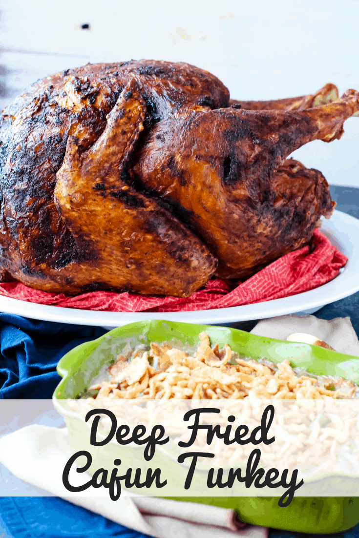 Deep Fried Cajun Turkey