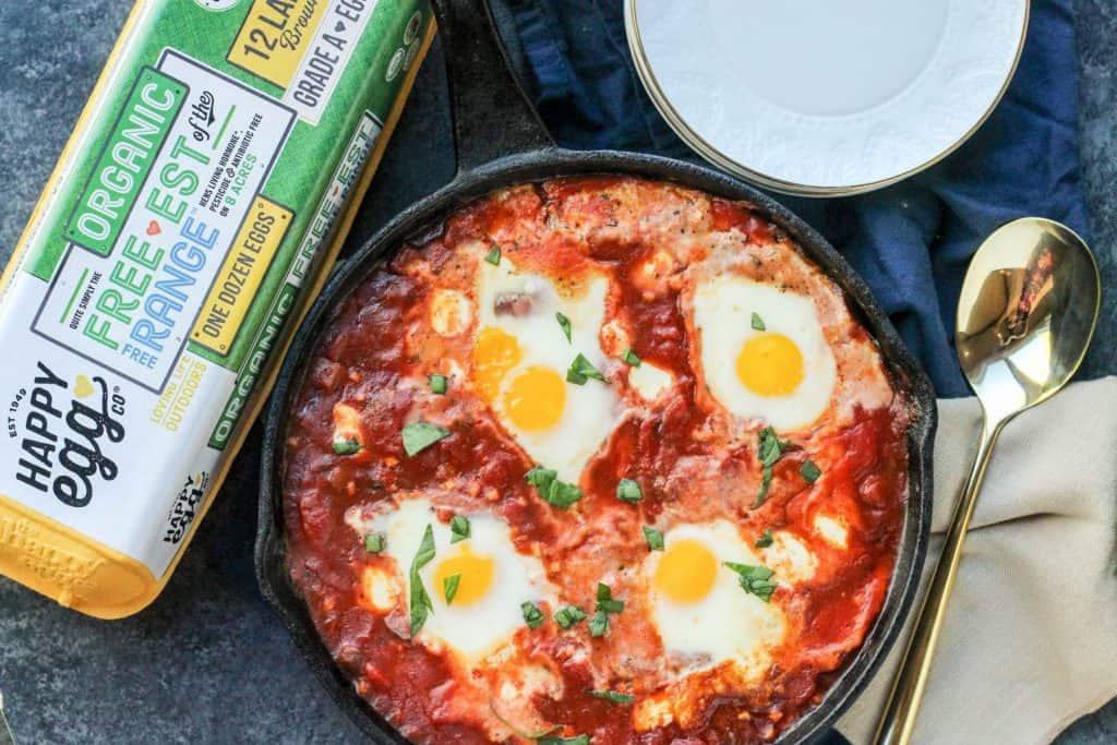 Eggs in Hell | Eggs in Purgatory | Italian Shakshuka | Baked Eggs Recipe