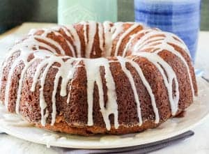 Cinnamon Pecan Breakfast Bundt Cake