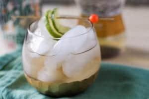 Ginger White Wine Spritzer