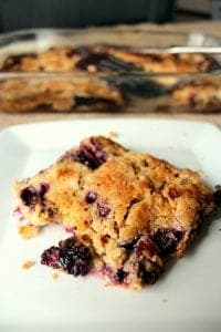 Blackberry Dump Cake