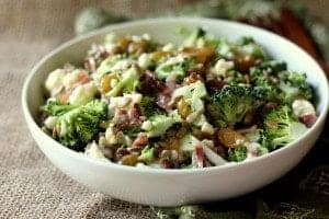 Cauliflower Brocolli Salad