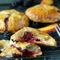 Blackberry Peach Turnovers (Hand Pies)