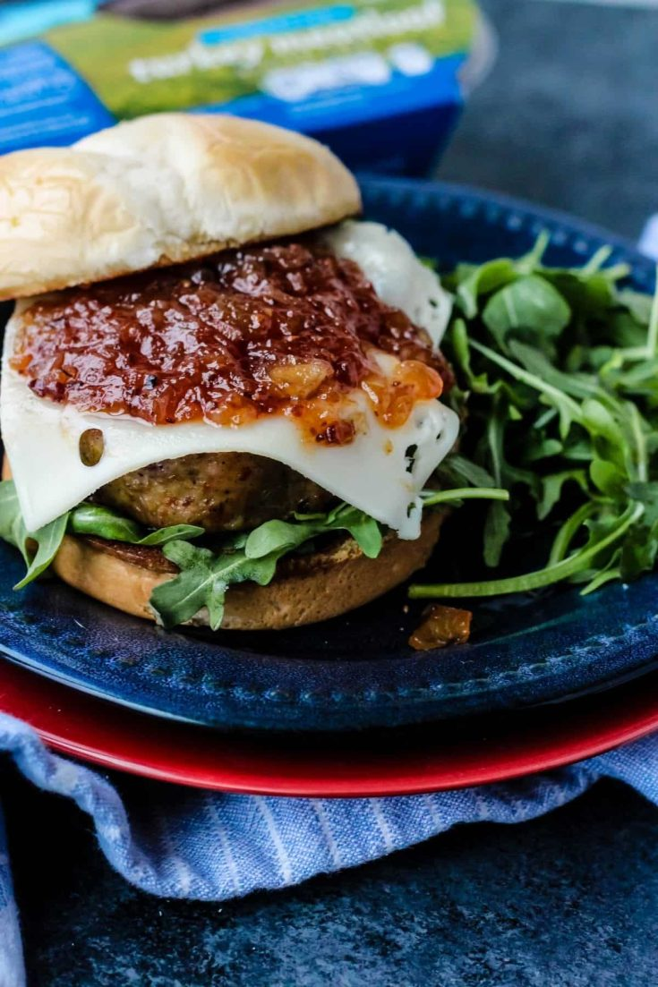 Meatloaf Sandwich with Tomato Bacon Jam