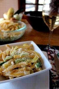 Creamy Summer Vegetable Pasta