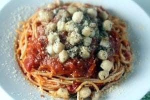 Bay Scallops Pasta Recipe