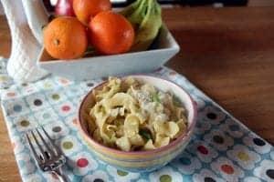 Simple Butter Parmesan Noodles