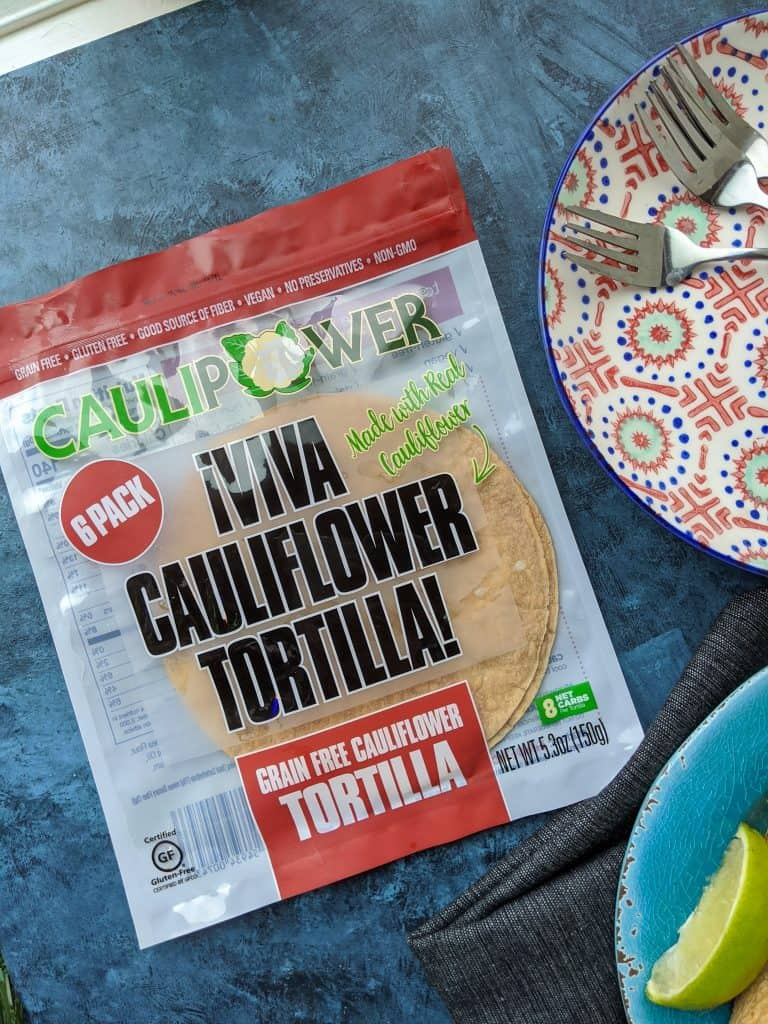 Caullipower Cauliflower Tortillas