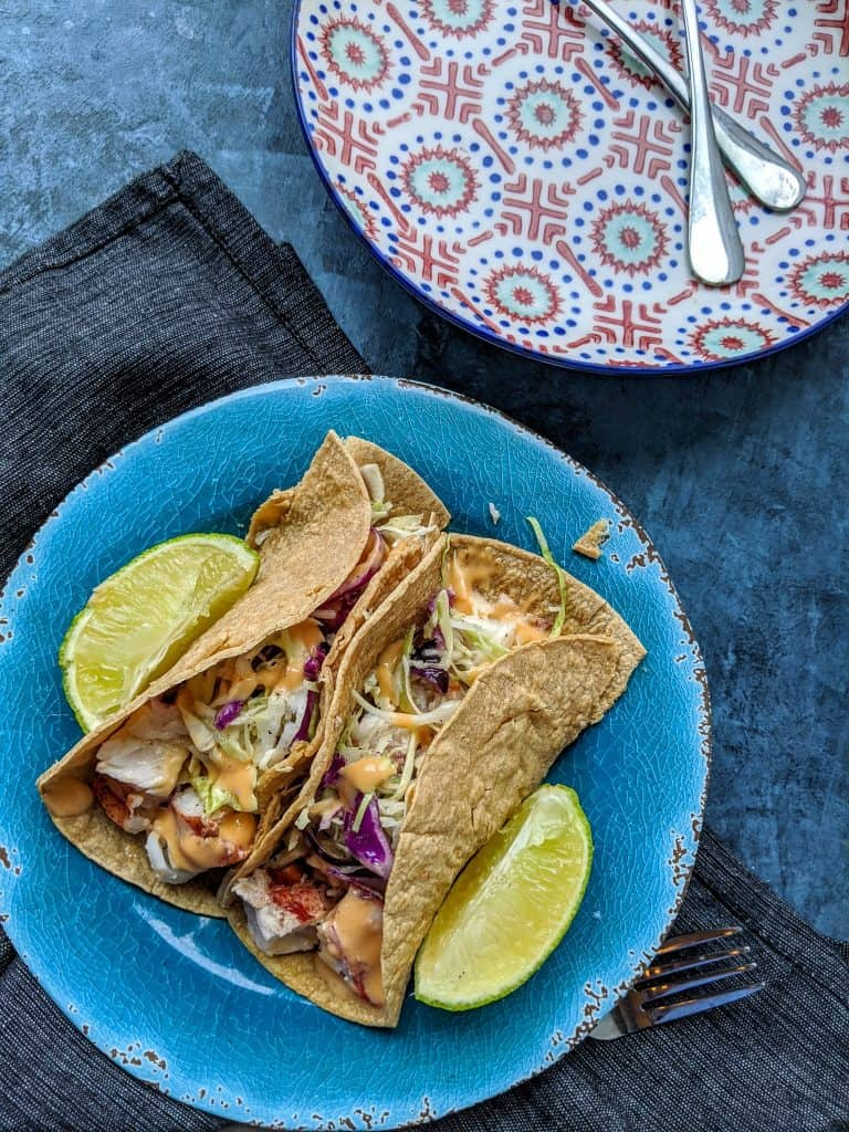 Easy Lobster Tacos Recipe