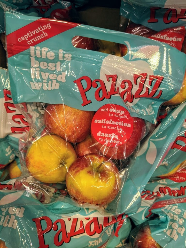 Pazazz Apples at Aldi