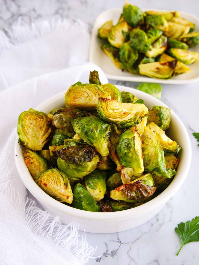 Crispy Brussels Sprouts Recipe | Air Fryer