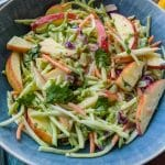 Creamy Apple Brocolli Slaw