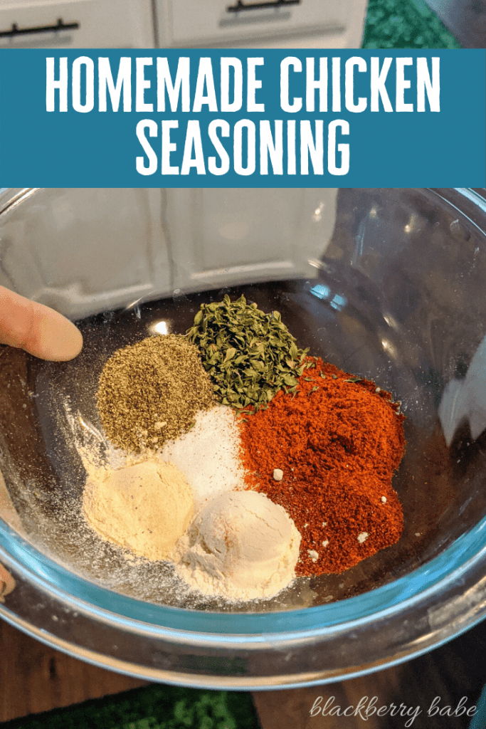Homemade Chicken Seasoning - Chicken Spice Rub