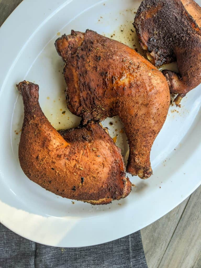 Smoked Chicken Quarters
